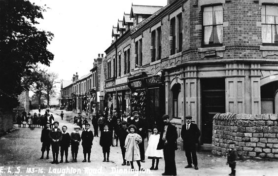 rotherham old photos postcards Laughton Road Dinning