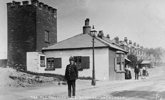rotherham old photos postcards The Old Toll House