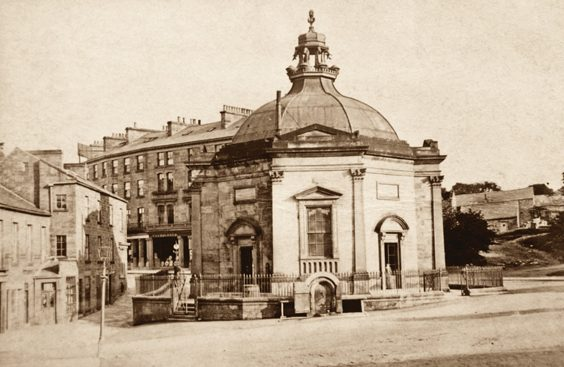 royal pump room harrogate history then