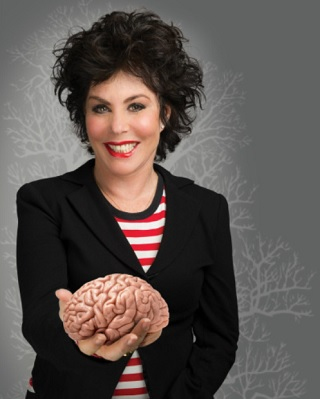 ruby wax how to be human review huddersfield lawrence batley theatre may 2019 brain