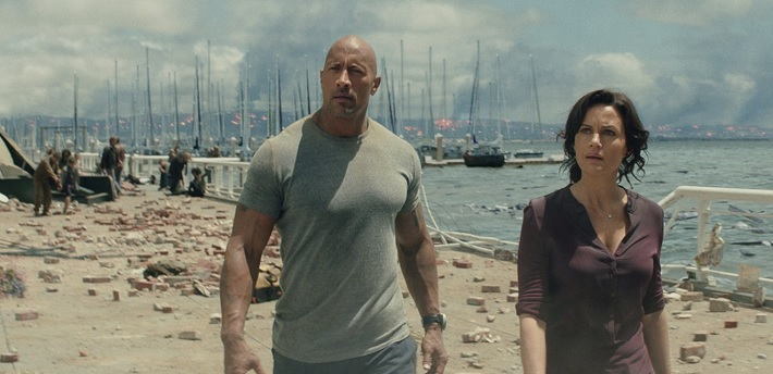 san andreas film review the rock