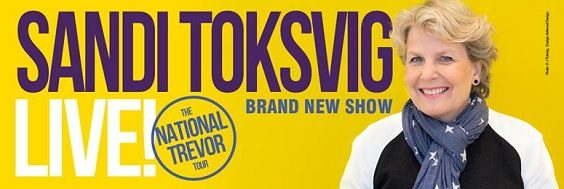 sandi toksvig interview poster