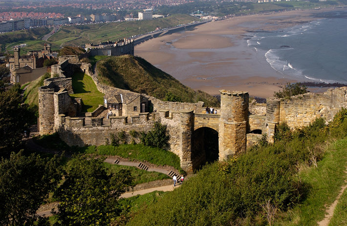 scarborough castle potted history heritage