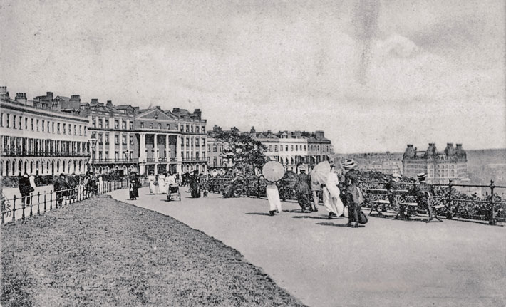 scarborough old photos postcards esplanade