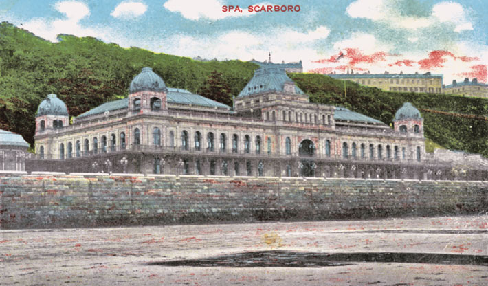 scarborough old photos postcards spa