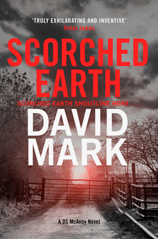 scorched earth david mark book review cover