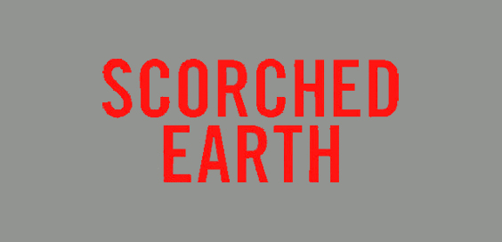 scorched earth david mark book review logo