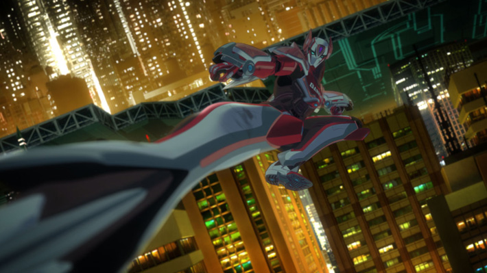 screen anime review tiger bunny