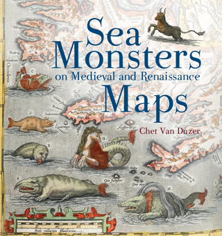 sea monsters on medieval and renaissance maps chat van duzer book review cover
