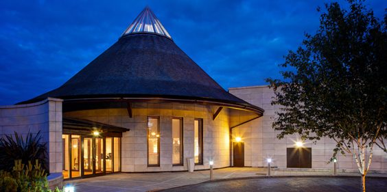 seaham hall spa exterior
