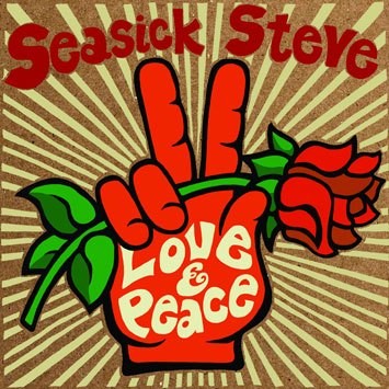 seasick steve love and peach album review cover