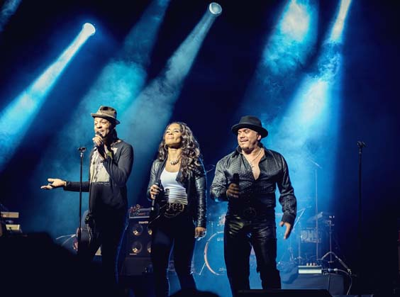 shalamar live in sheffield at the foundry gig