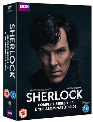sherlock complete series review dvd cover