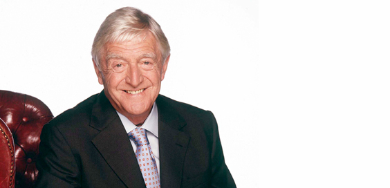 sir michael parkinson interview main