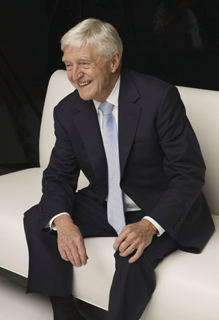 sir michael parkinson interview stage