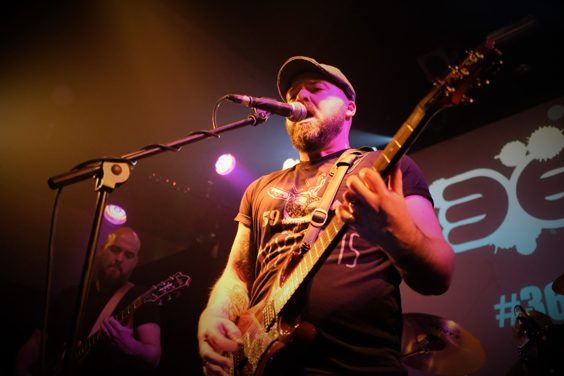 skull adore-repel TEFFF being a tiger leeds lending rooms live review april 2018 huddersfield