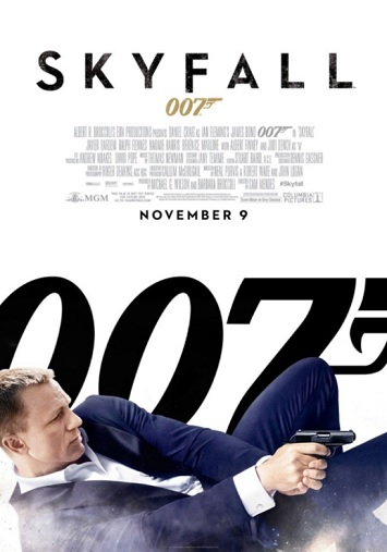 skyfall film review poster
