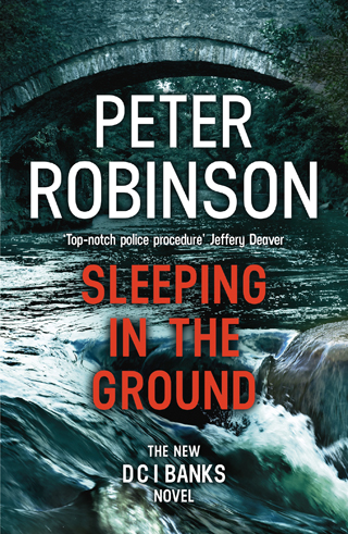 sleeping in the ground peter robinson book review cover
