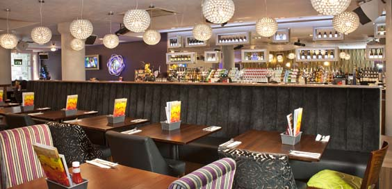 slug and lettuce park row leeds review interior