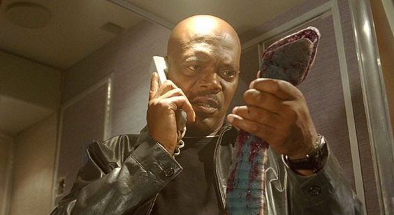 snakes on a plane film review samuel l jackson