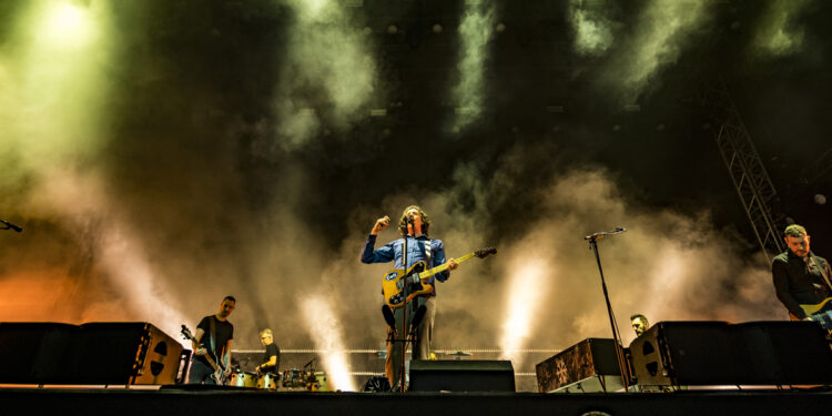 snow patrol live review scarborough open air theatre september 2021 main