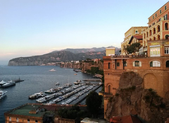 sorrento italy travel review panorama