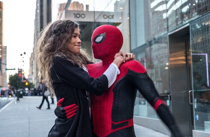 spider-man far from home film review street