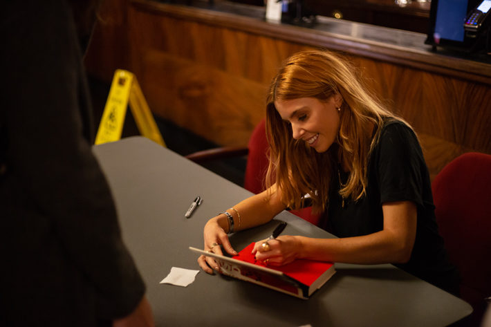 stacey dooley interview signing
