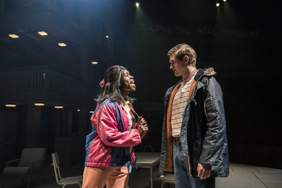 standing at the sky's edge review sheffield crucible march 2019 Faith Omole