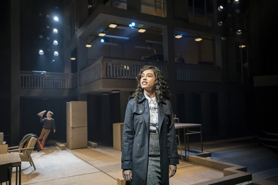 standing at the sky's edge review sheffield crucible march 2019 Nicole Deon