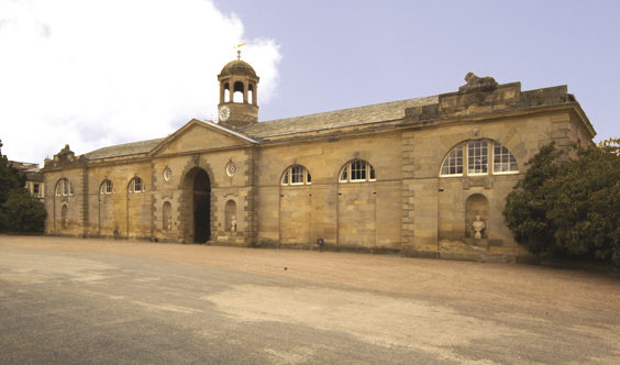 stately homes of yorkshire Newby-Hall