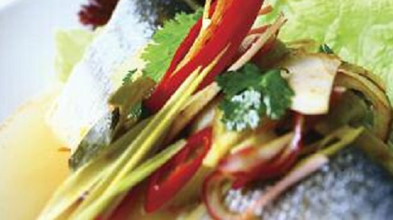 steamed sea bass recipe pla pae sa