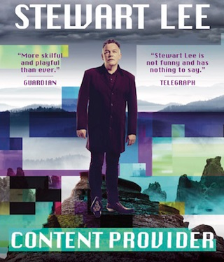 stewart lee content provider interview poster