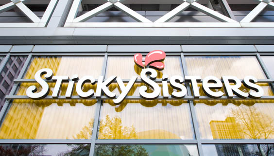 sticky sisters leeds restaurant review exterior