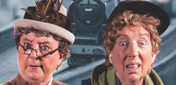 strangers on a train set review juction goole april 2019 main