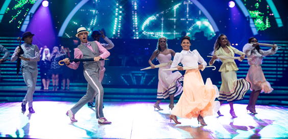 strictly come dancing live tour 2019 review leeds arena main swann