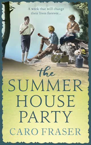 summer house party caro fraser book review cover