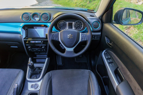 suzuki vitara review interior