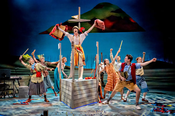 swallows and amazons review york theatre royal august 2019 cast