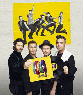 take that interview the band press conference cast line up the band take that with record