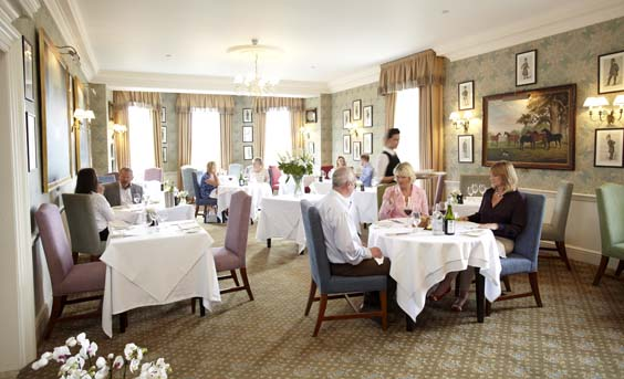 talbot hotel malton review dining room