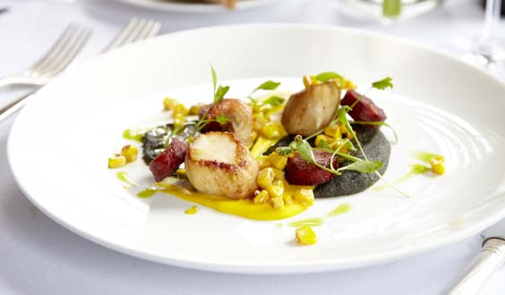 talbot hotel malton review scallops