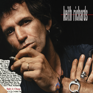 talk is cheap Keith Richards album review cover