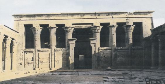 temple works leeds The original Temple of Horus at Edfu