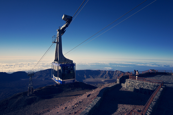 tenerife travel review spain Teide cable car