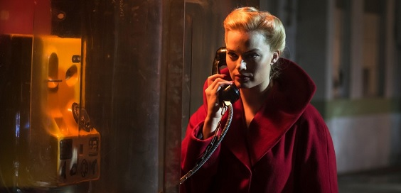 terminal film review margot robbie phone