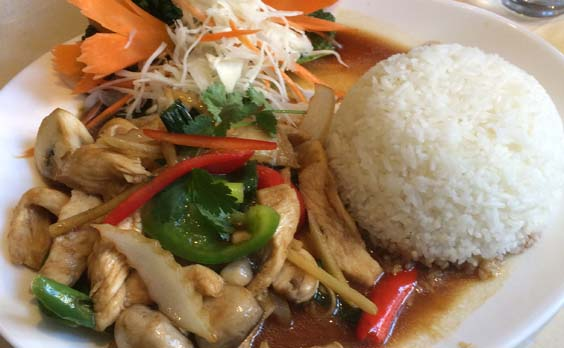 thai palace beverley restaurant review mains