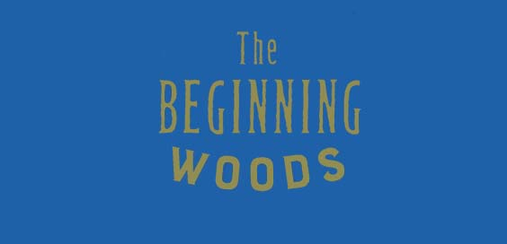the beginning woods book review logo