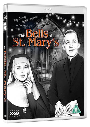 the bells of st mary's film review bluray cover