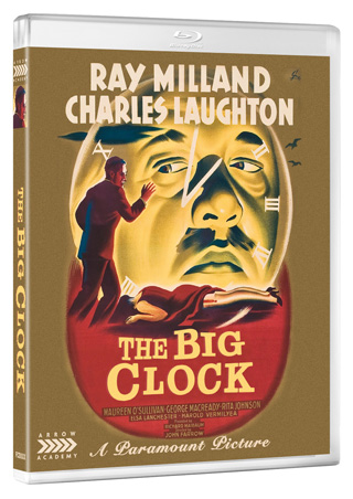the big clock film review poster cover